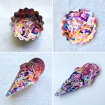 maRRose - CCC - Yarn Ends Brooches-30