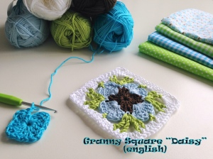 maRRose - Granny Square Daisy - english