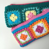 "Follow-up Friday - ""Rico Bobble Granny Square""-cushion"
