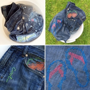 maRRose - CCC --- recycled jeans bag collage-05