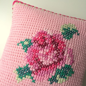 maRRose - CCC - Tunisian Cushion Cover-13